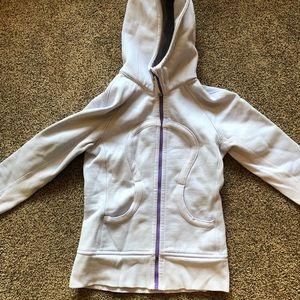lululemon periwinkle scuba hoodie